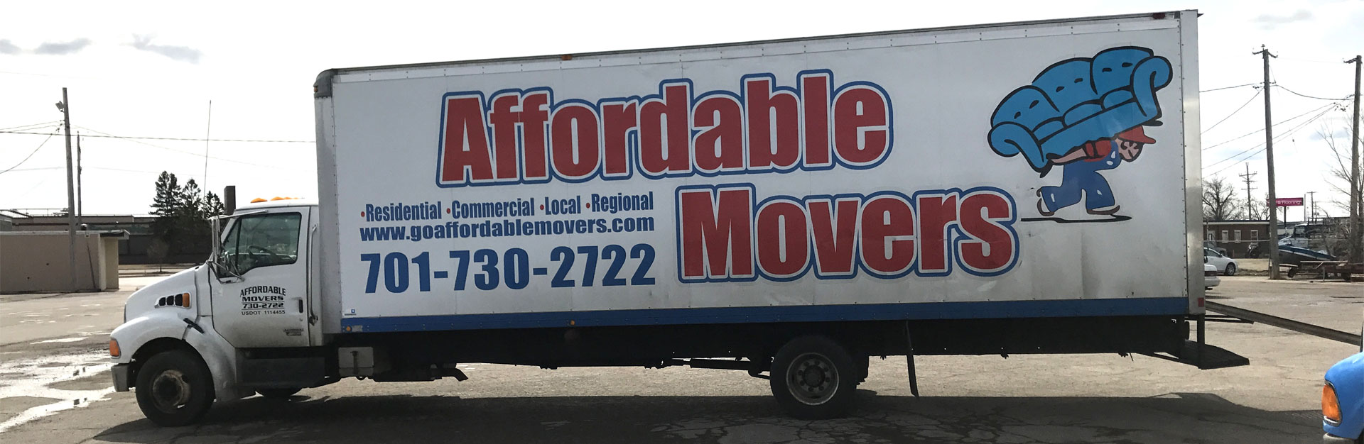Affordable Movers - Header Banner