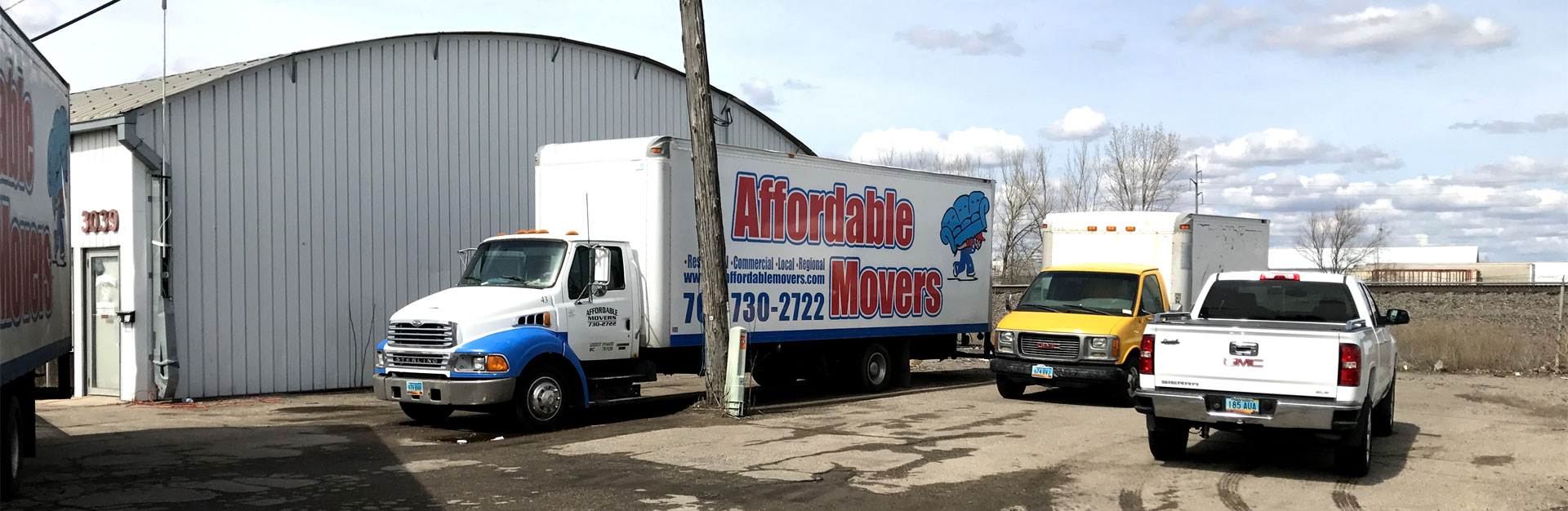 Affordable Movers - Home Banner 2