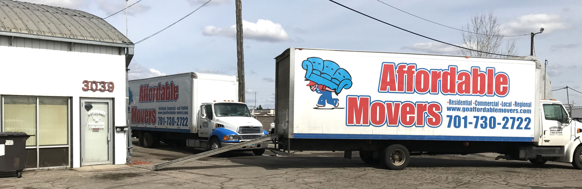 Affordable Movers - Contact Us